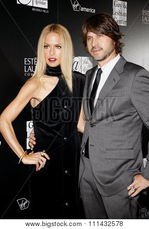 Rachel Zoe and Rodger Berman at the LA Gay And Lesbian Center Honors Rachel Zoe Benifiting Homeless Youth Services held at the Sunset Tower in West Hollywood on January 23, 2012.