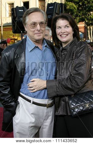 HOLLYWOOD, CALIFORNIA - June 27 2005. William Friedkin and Sherry Lansing attend at the