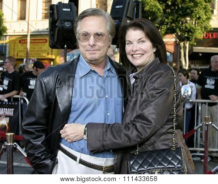 HOLLYWOOD, CALIFORNIA. June 27, 2005. Sherry Lansing and William Friedkin at the