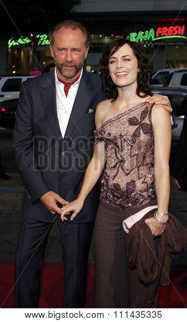 October 10, 2005 - Hollywood - Xander Berkeley and wife Sarah Clarke at the