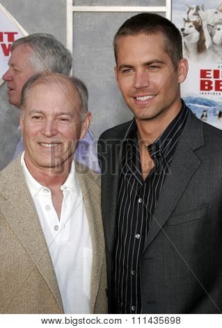 Frank Marshall and Paul Walker attend the World Premiere of