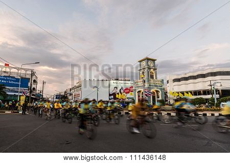Phuket Thailand-dec 11 : Event In Thailand