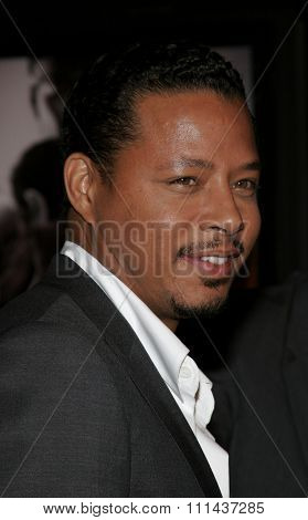 November 3, 2005 - Hollywood - Terrence Howard at the Paramount Pictures'