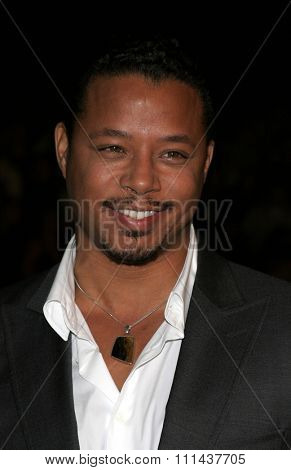 HOLLYWOOD. November 2, 2005. Terrence Howard at the Paramount Pictures'