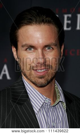 12/04/2005 - Hollywood - Brody Hutzler attends the