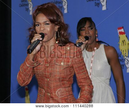 November 15, 2005 - Hollywood - Michelle Williams of Destiny's Child at the 2005 World Children's Day at The Los Angeles Ronald McDonald House Ronald McDonald House in Hollywood, United States.