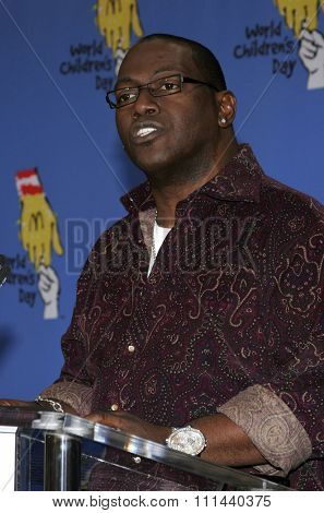 November 15, 2005 - Hollywood - Producer Randy Jackson at the 2005 World Children's Day at The Los Angeles Ronald McDonald House Ronald McDonald House in Hollywood, California United States.