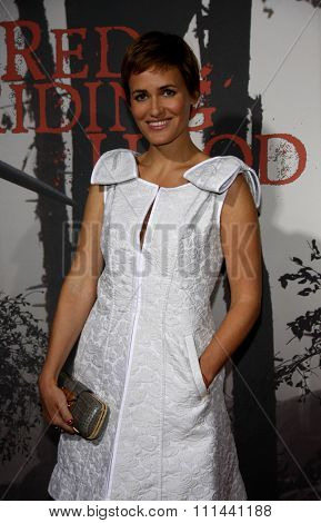 Judith Godreche at the