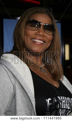 HOLLYWOOD, CALIFORNIA. March 19, 2006. Queen Latifah attends the World Premiere of