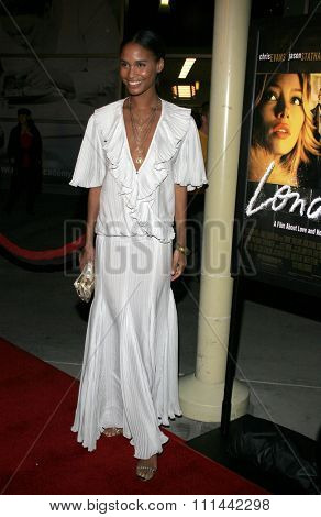 Joy Bryant attends the Los Angeles Premiere of