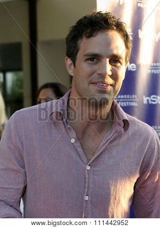17 June 2004 - Hollywood, Califronia - Mark Ruffalo. Opening Night of the 2004 Los Angeles Film Festival and the Los Angeles Premiere of 'Garden State'  at the Arclight Cinema in Hollywood.
