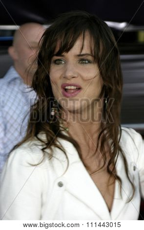 2 August 2004 - Los Angeles, California - Juliette Lewis. The World Premiere of 'Collateral' at the Orpheum Theatre in downtown Los Angeles.