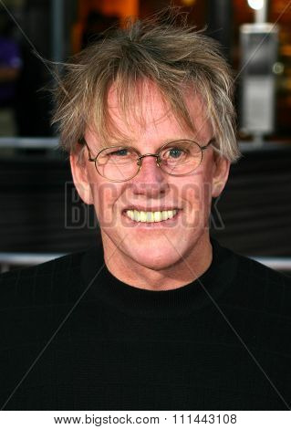 2 August 2004 - Los Angeles, California - Gary Busey. The World Premiere of 'Collateral' at the Orpheum Theatre in downtown Los Angeles.