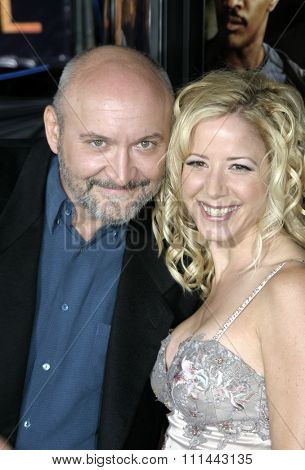 2 August 2004 - Los Angeles, California - Executive Producer Frank Darabont and Producer Julie Richardson. The World Premiere of 'Collateral' at the Orpheum Theatre in downtown Los Angeles.