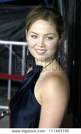2 August 2004 - Los Angeles, California - Erika Christensen. The World Premiere of 'Collateral' at the Orpheum Theatre in downtown Los Angeles.