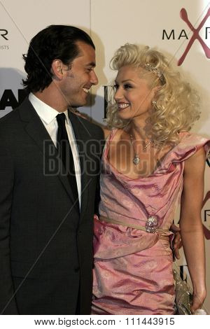 Gavin Rossdale and Gwen Stefani at the Los Angeles Premiere of