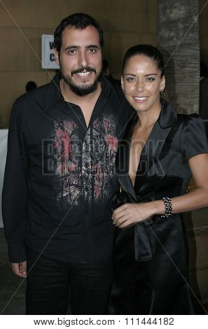 August 22, 2005. Ana Claudia Talancon and Alejandro Lozano at the Film premiere of Televisa Cine theatrical release