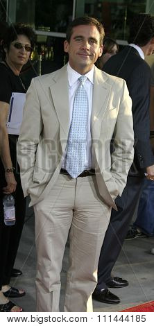 WESTWOOD, CALIFORNIA. August 11, 2005. Steve Carell at the