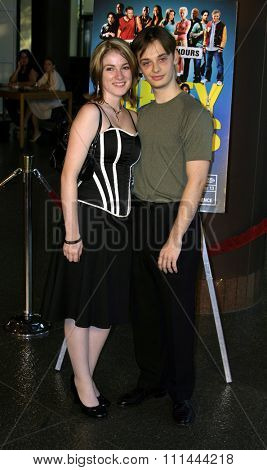 HOLLYWOOD, CALIFORNIA. August 23, 2005. Fred Meyers and Melissa Berard at the World Premiere of