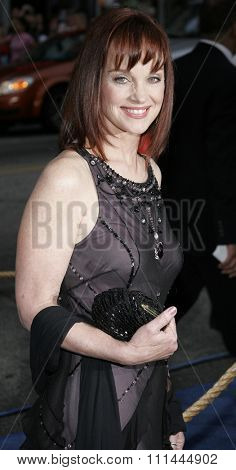 HOLLYWOOD, CALIFORNIA. Wednesday May 10, 2006. Pamela Sue Martin attends the Los Angeles Premiere of