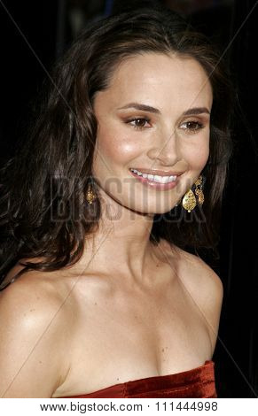 HOLLYWOOD, CALIFORNIA. Wednesday May 10, 2006. Mia Maestro attends the Los Angeles Premiere of