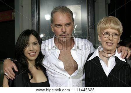 6 October 2004 - Hollywood, California - Connie Angland, Billy Bob Thornton and his mom. The world premiere of 'Friday Night Lights' at Grauman's Chinese Theater in Hollywood.