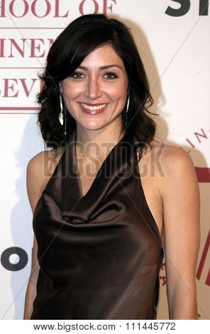 Sasha Alexander at the 75th Diamond Jubilee Celebration for the USC School of Cinema-Television held at the USC's Bovard Auditorium in Los Angeles, United States on September 26 2004.