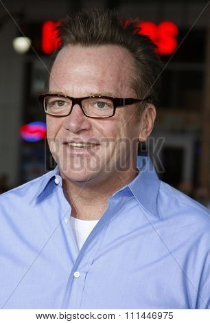 10/04/2008 - Hollywood - Tom Arnold arrives to the World Premiere of