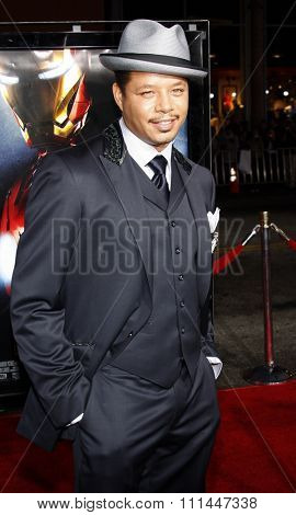 30/04/2008 - Hollywood - Terrence Howard arrives to the Los Angeles Premiere of