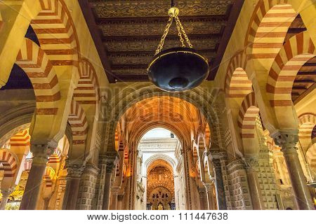 Capilla First Christian Chapel Arches Mezquita Cordoba Spain