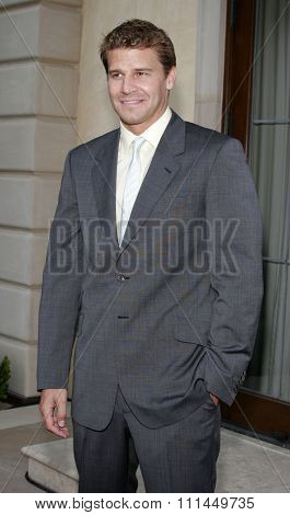 06/10/2006 - Bel Air - David Boreanaz attend the Chrysalis' 5th Annual Butterfly Ball  held at Italian Villa Carla and Fred Sands in Bel Air, California, United States.