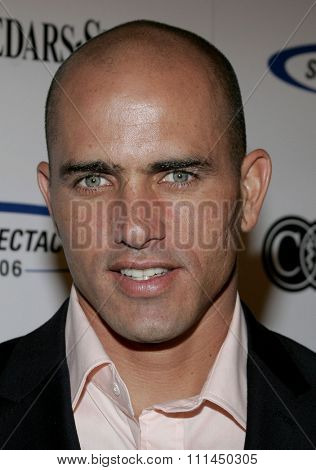 June 11, 2006. Kelly Slater attends the 21st Annual Sports Spectacular held at the Hyatt Regency Century Plaza Hotel in Century City, California United States.