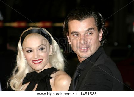 02/16/2005 - Hollywood - Gwen Stefani and Gavin Rossdale at the