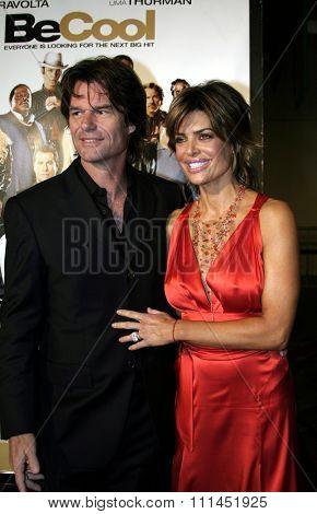02/14/2005 - Hollywood - Lisa Rinna and Harry Hamlin at the