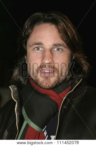 02/24/2005 - Hollywood - Martin Henderson at Hollywood Stars Join Global Green For Clean Energy Solutions, Music At