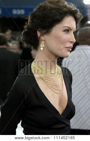 Lara Flynn Boyle at the Los Angeles premiere of