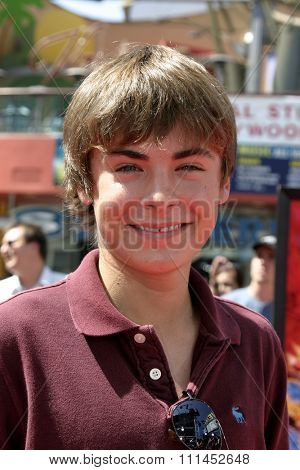 Zac Efron at the