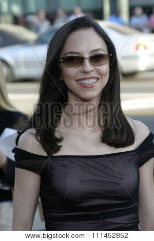 Juliet Landau at the Los Angeles premiere of