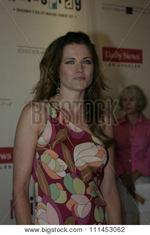 Lucy Lawless at the Los Angeles Opening Night of