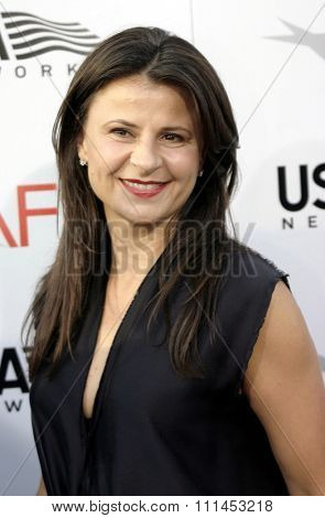 10 June 2004 - Hollywood, USA - Tracy Ullman. 32nd AFI Life Achievement Award: A Tribute to Meryl Streep at the Kodak Theatre, Hollywood & Highland.