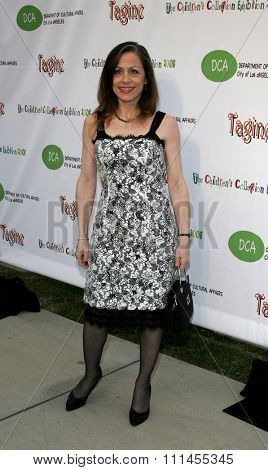 HOLLYWOOD, CALIFORNIA. April 22, 2006. Vicki Roberts attends the opening of