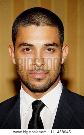 Wilmer Valderrama at the The Jonsson Cancer Center Foundation's 17th Annual Taste For A Cure Gala held at the Beverly Wilshire Four Seasons Hotel in Beverly Hills on April 20, 2012.