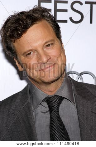 November 5, 2009. Colin Firth at the AFI FEST 2009 Screening of
