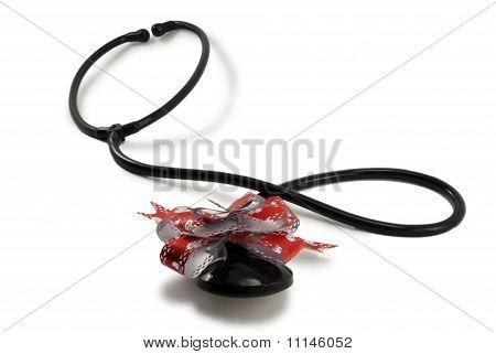Stethoscope bow