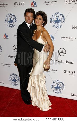 25/10/2008 - Beverly Hills - Harry Hamlin and Lisa Rinna at the 30th Anniversary Carousel Of Hope Ball held at the Beverly Hilton Hotel in Beverly Hills, California, United States.