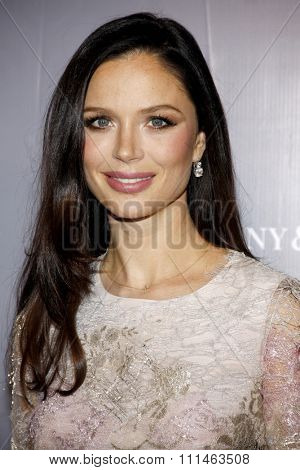 Georgina Chapman at the Rodeo Drive Walk Of Style honors Catherine Martin held at the Greystone Mansion in Los Angeles, United States, 280214.