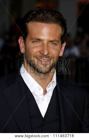Bradley Cooper at the Los Angeles premiere of 'All About Steve' held at the Grauman's Chinese Theatre in Los Angeles on August 26, 2009.