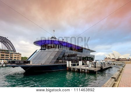 Starship Sydney Cruise Vessel