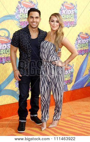 Alexa Vega at the Nickelodeon's 27th Annual Kids' Choice Awards held at the USC Galen Center in Los Angeles on March 29, 2014 in Los Angeles, California.