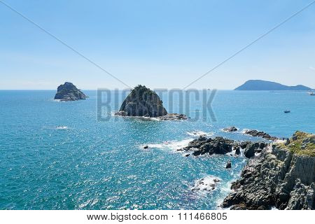 Oryukdo Islands In Busan